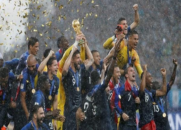 pm congratulates france on winning fifa world cup