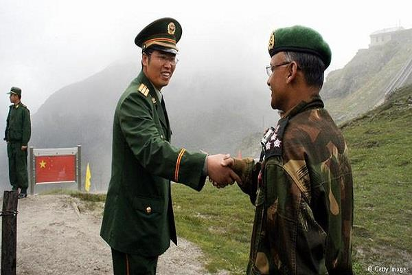 chinese army s delegation to improve border coordination on india visit