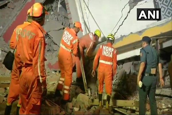 two under construction buildings collapsed in greater noida