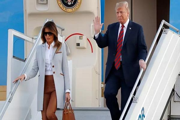 trump arrives in helsinki for summit with putin