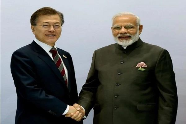 inauguration of samsungs mobile factory will be modi moon in noida
