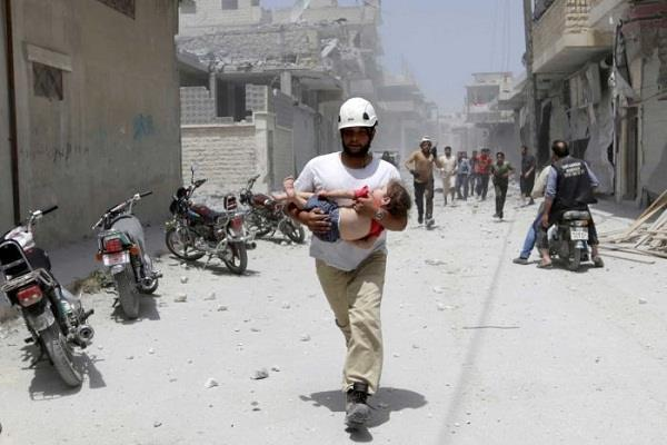 215 people killed in is terrorists in syria