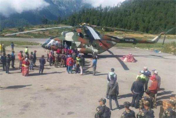 500 kailash pilgrims stranded in nepal safely