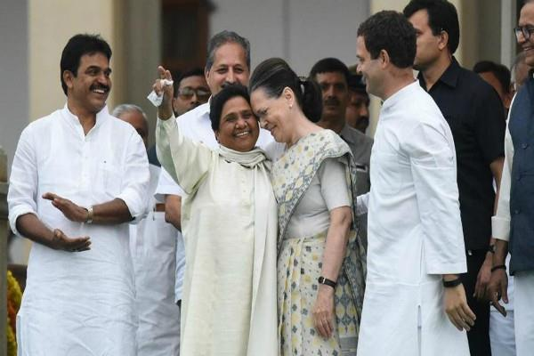 mayawati seeks all india alliance with congress
