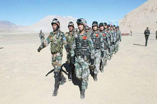 china military drills in tibet