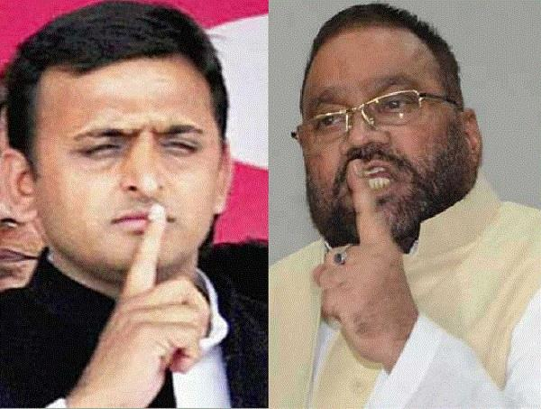 akhilesh has no right to speak on law and order maurya