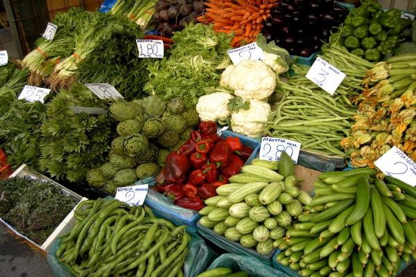 during the monsoon the vegetables prices rise