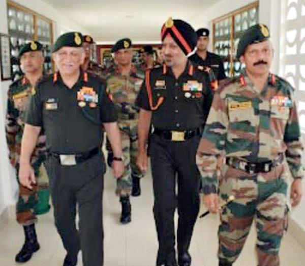 army chief rawat visits mamun military station
