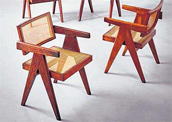 chandigarh heritage furniture will now be auctioned in chicago