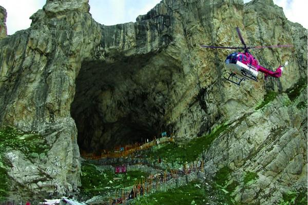 police involved in saving the helicopter company in amarnath ticket scam