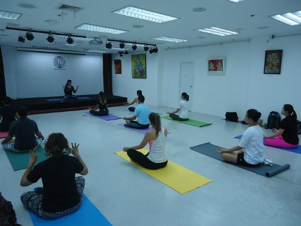 now all the embassies will be yoga guru