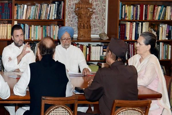 monsoon session sonia gandhi house congressman meeting