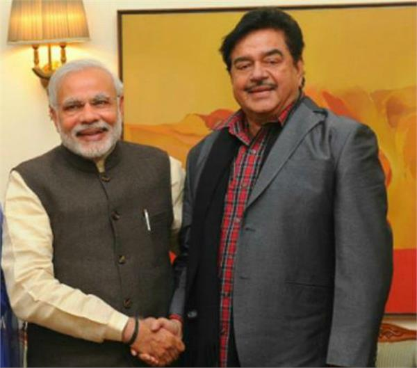 why shatrughan sinha announced to vote favour in modi