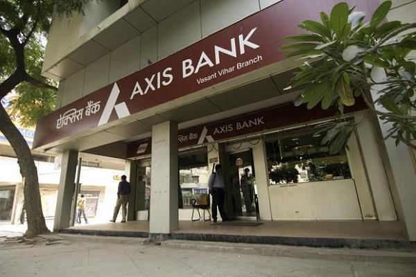 axis bank profit down 46 3 percent