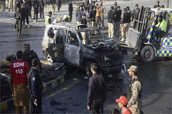 pakistan election candidate killed in suicide attack at rally