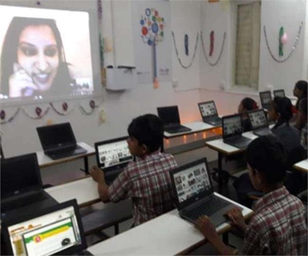 google school in ahmedabad from study to homework are all online