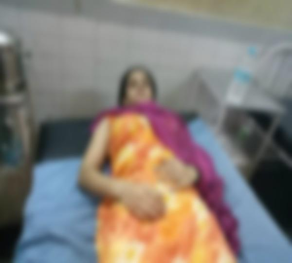 beating of pregnant wife