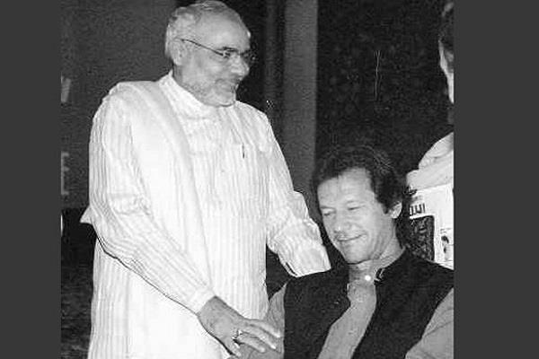 when imran khan was nervous in front of pm modi