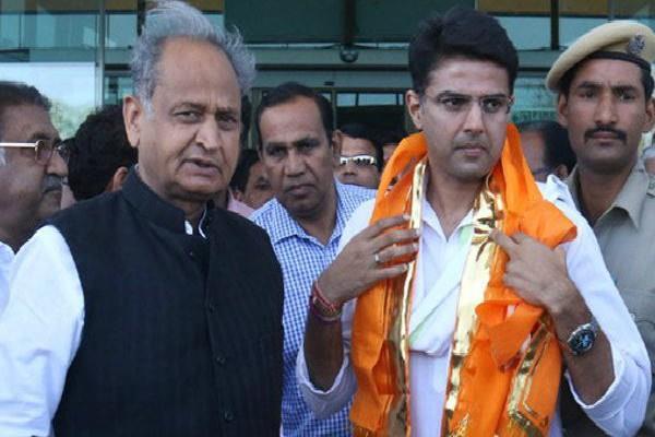 politics start on rajasthan congress chief minister