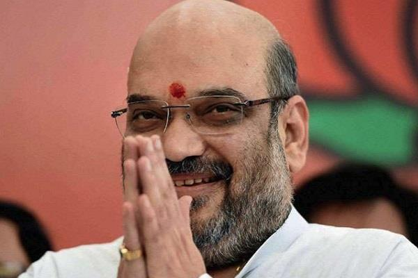 amit shah on a one day visit to ranchi