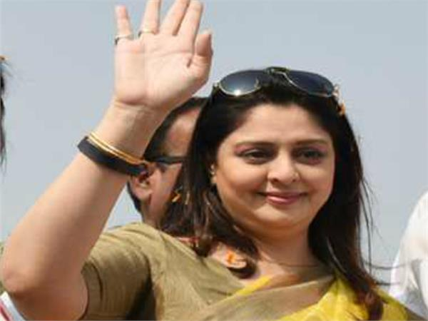 actress nagama attacks on cm shivraj