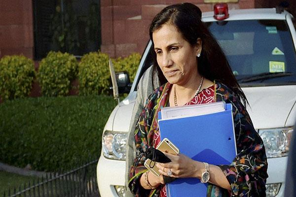 sebi asks chanda kochhar to reply to show cause notice by july 10