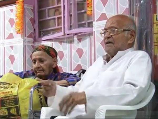 mahatma gandhi grandson wife shiva laxmi gandhi left delhi