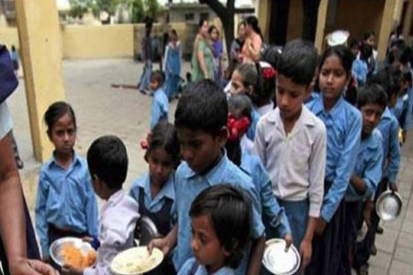 all schools in the state mantras mandatory before the mid day meal