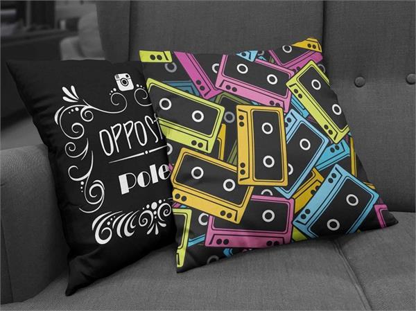 Cushion Cover के ये डिजाइन्स घर को देंगे कूल लुक