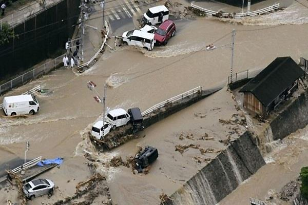 japan 141 people stranded in gusty rain 63 still missing