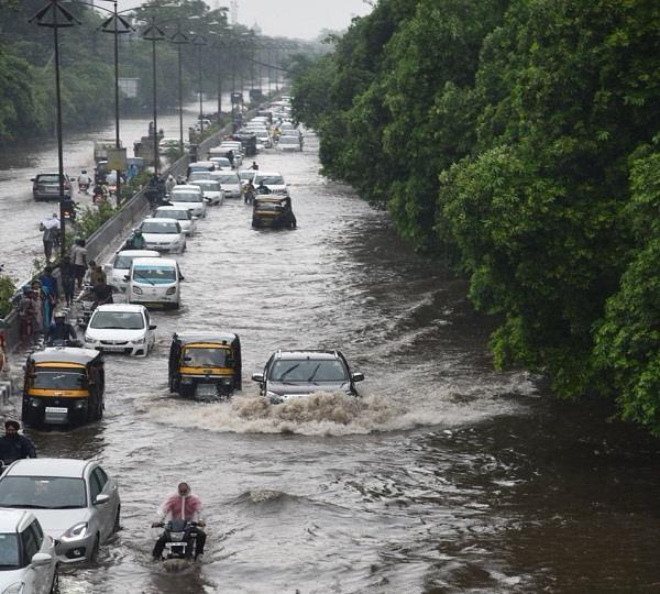 heavy rain in ludhiana