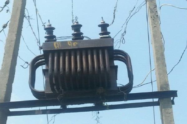 80 transformers burnt to 3 sub divisions in 7 days
