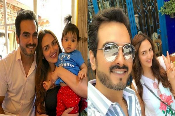esha deol family holiday with hema malini and husband