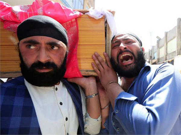 afghanistan s sikhs weigh future after suicide bombing