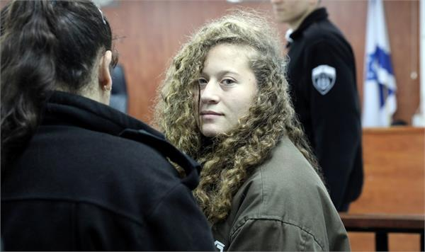 ahed tamimi palestinian protest icon released from israeli prison
