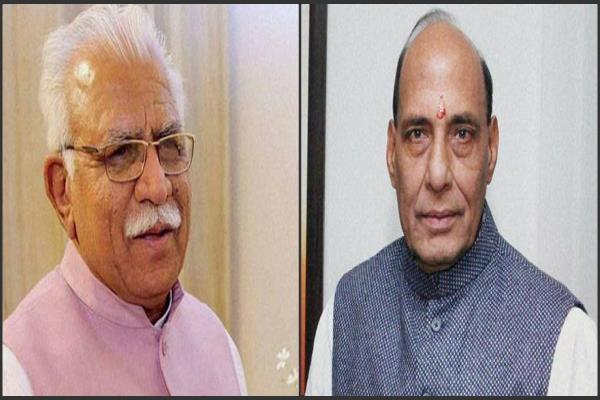 cm seeks written letter to home minister haryana share in punjab university