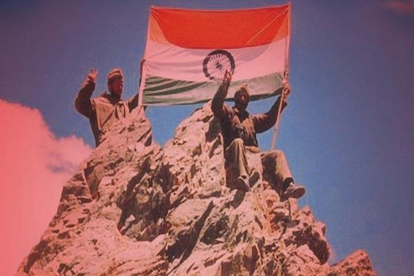 kovind modi gives tribute to martyrs on kargil day