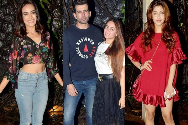 naagin 3 actresses bold looks at party