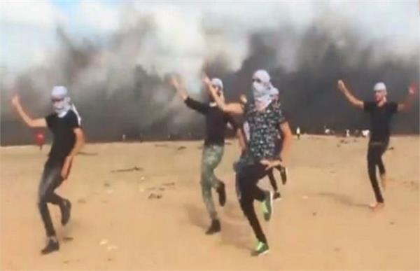 palestine peace activist dance video viral