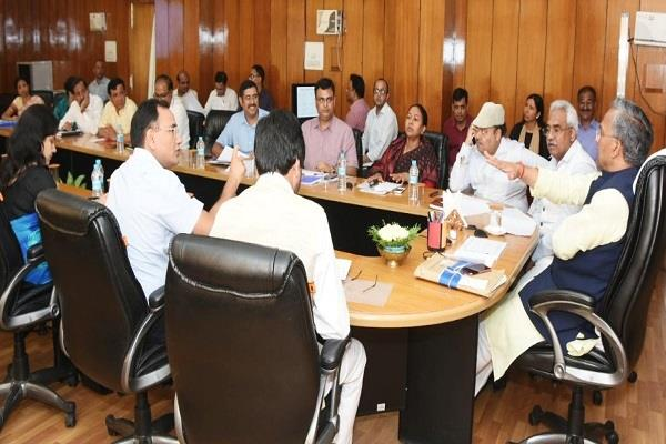 cm done meeting on ayushman plan