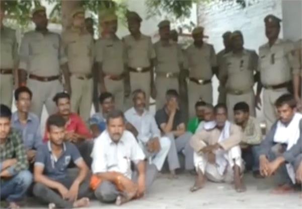 up police s big success 61 criminals arrest
