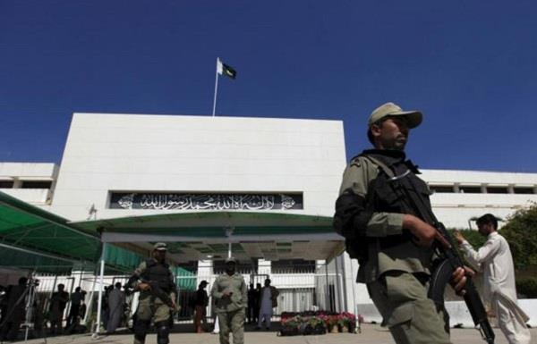terrorists being brought into parliament pakistan senators