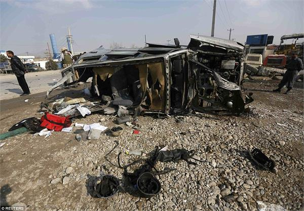 afghanistan five people die in suicide attack