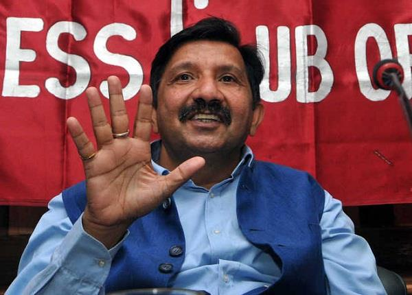 bjp anger over the language of agnihotri