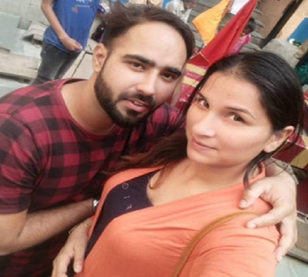 gangster dilpreet baba and his girlfriend viral photos