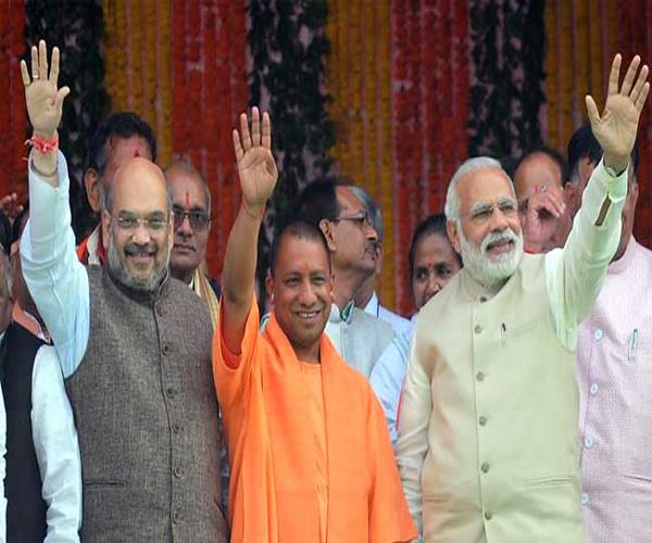 bjp in support of kumbh in up