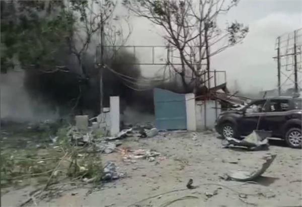 telangana 10 people dead in fire at a firecracker godown