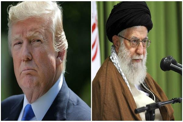 iranian leader told trump to the irresponsible person