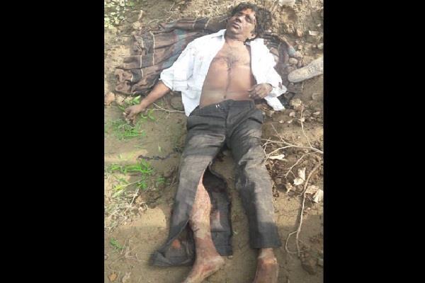 dead body found in bushes