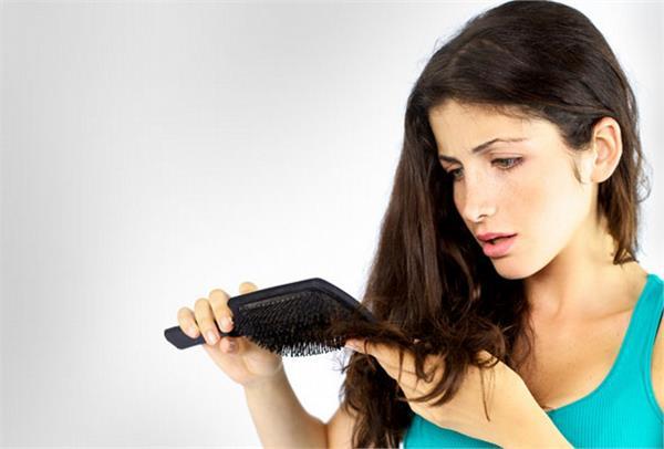 yoga for hair fall